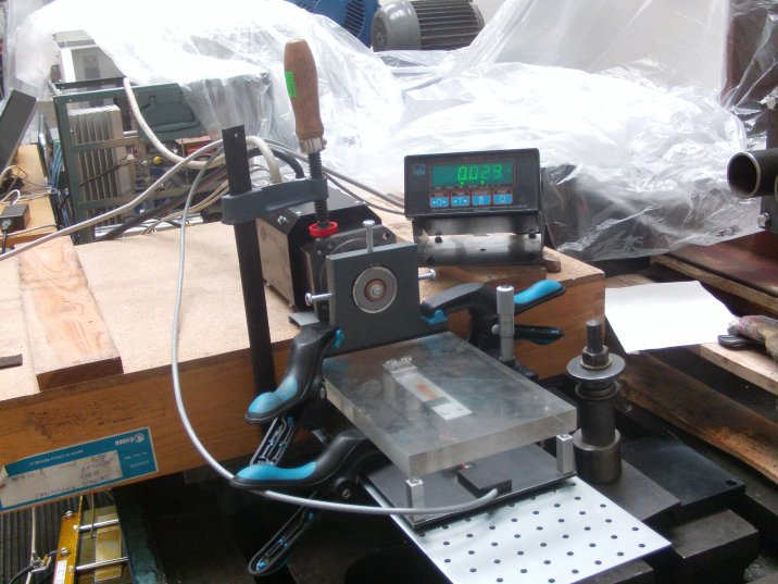 Passive magnetic bearing prototype and testing (G. Merabishvili)