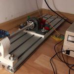 Pasivní magnetické ložisko, test stand